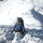 <p>Ultimi passi prima della cima del Mont Valesan</p>